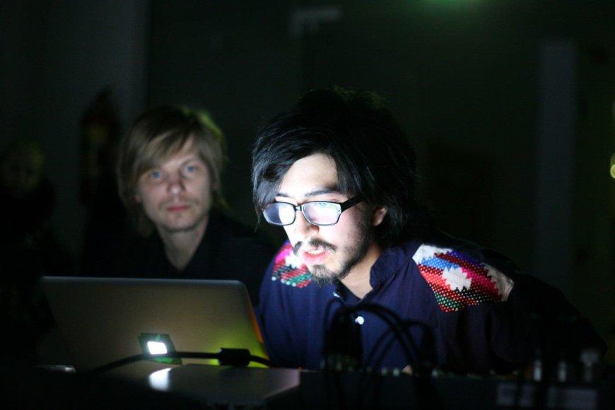 """Kražiuose vyko unikalus vaizdo ir garso meninis projektas """"Miške"""""""
