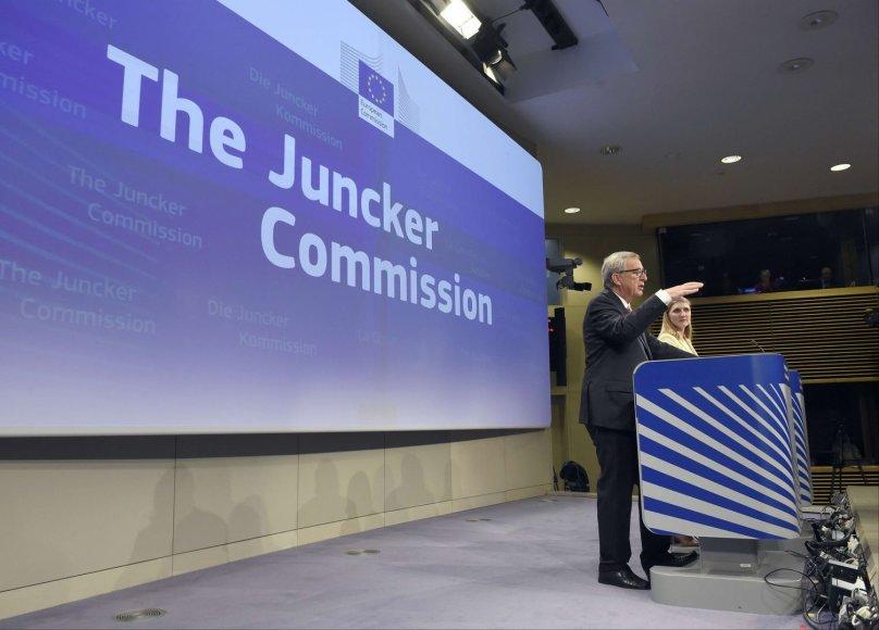 EP pradės svarstyti J.C.Junckerio pateiktas Europos Komisijos narių kandidatūras
