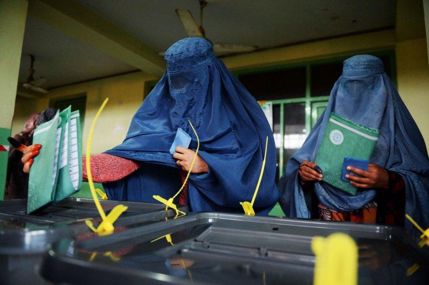 Rinkimai Afganistane