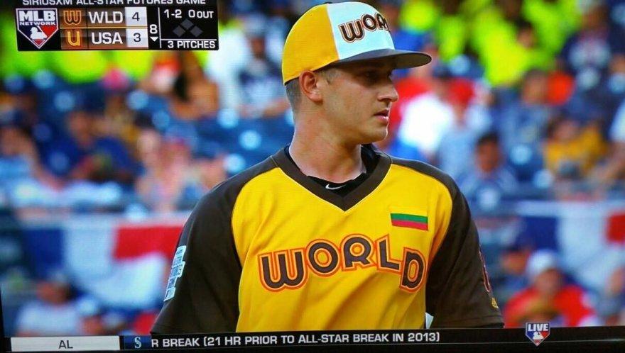 Dovydas Neverauskas MLB Visų žvaigždžių rungtynėse