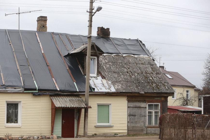 Namas Krokuvos gatvėje praėjus 8 mėnesiams po gaisro