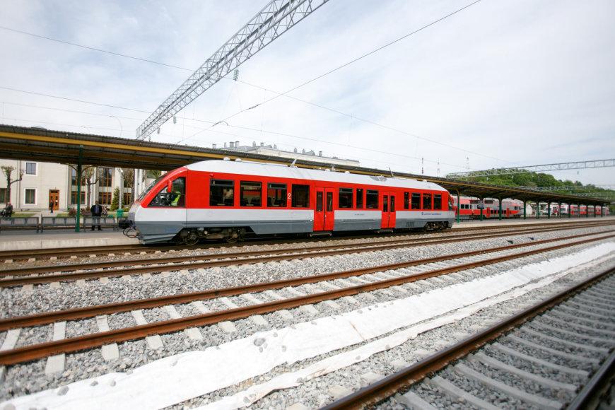 Kauno geležinkelio stotyje