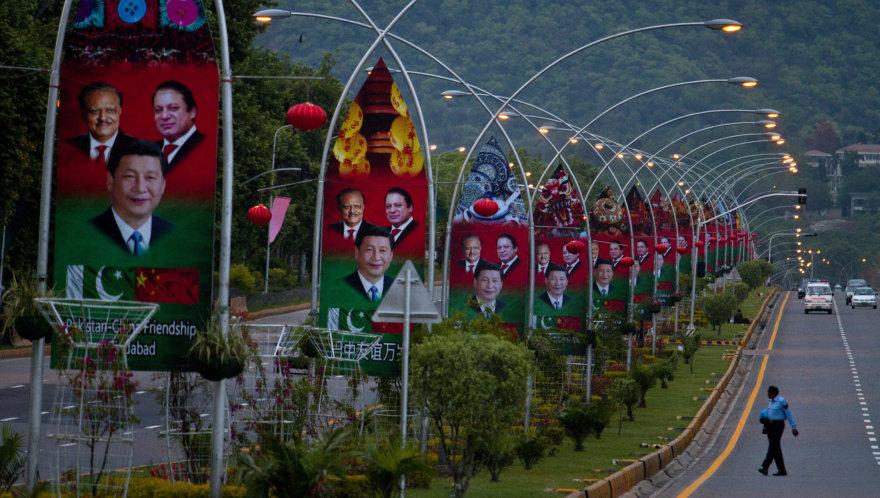 Kinijos prezidento vizitas Pakistane
