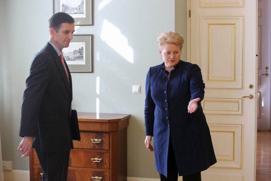 Gediminas Grina ir Dalia Grybauskaitė
