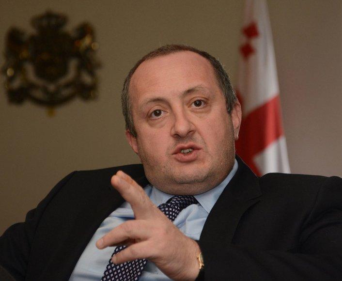 Gruzijos prezidentas Giorgis Margvelašvilis