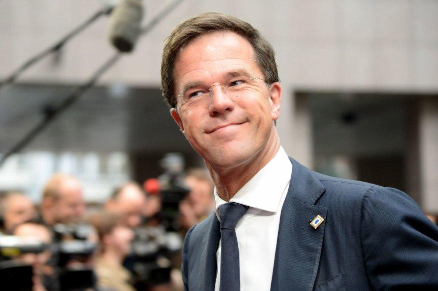 Olandijos ministras pirmininkas Markas Rutte