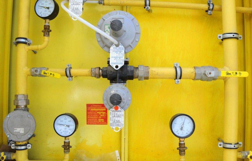 Dujų skirstymo stotis Donecke