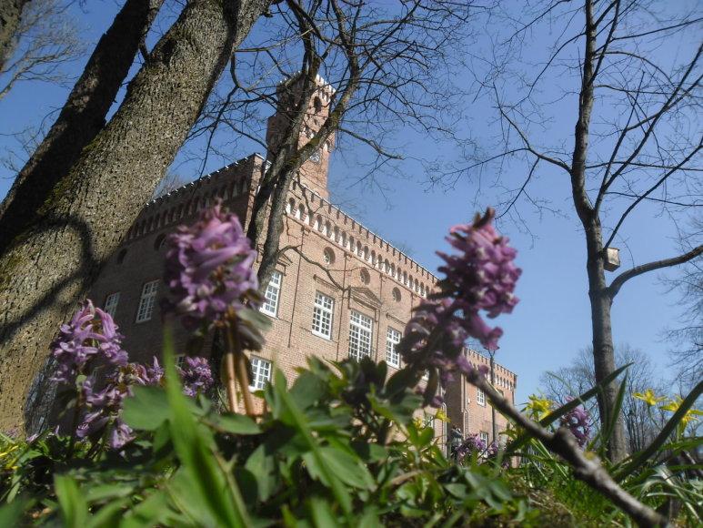 Grafo A. Zubovo pastatyta, o dabar restauruota laikrodinė - oranžerija Plungėje.