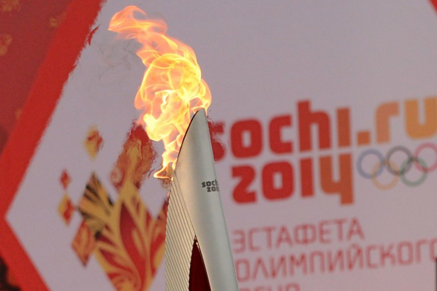 Sočio olimpinis deglas
