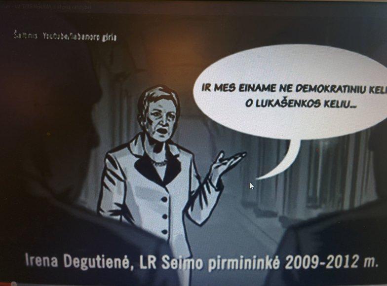 Vaizdas iš A.Paulausko reklamos