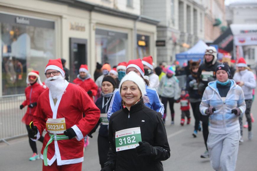 Vilniaus gatvėse – Kalėdinis bėgimas