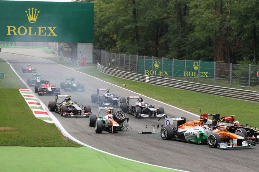 F-1 lenktynės Monzoje