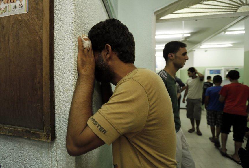 Palestiniečiai Gazos ruožė