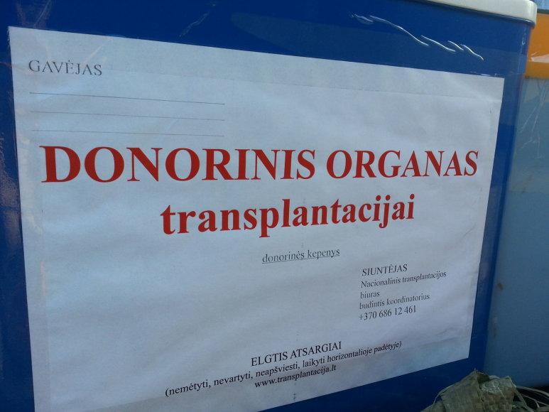 """Donorystės diena Klaipėdoje prie """"Švyturio"""" arenos"""