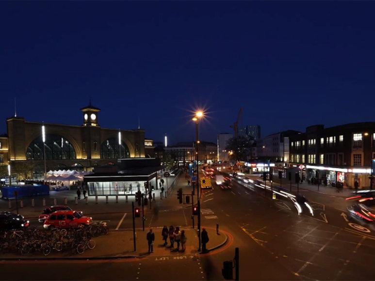 Pagreintintame vaizdo filme užfiksuotas įvairiaveidis Londonas