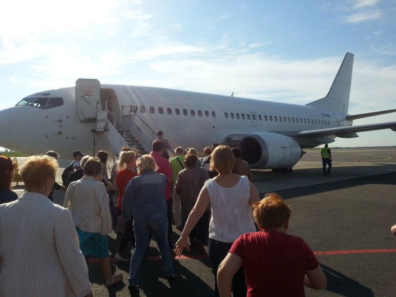 """""""Go2Holiday"""" klientai lipa į """"Grand Cru Airlines"""" lėktuvą birželio mėnesį"""