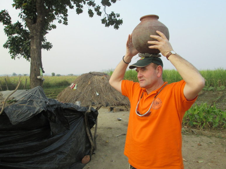 Gerimantas Statinis Indijoje