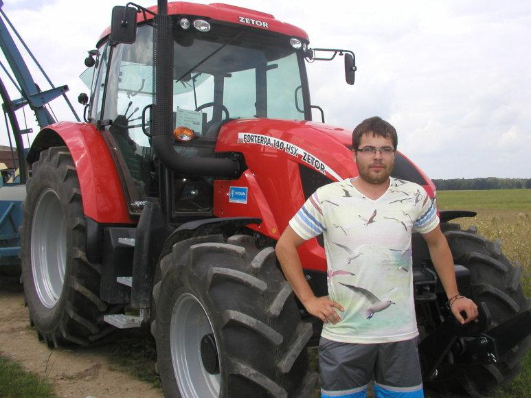 D.Margelis nemano, kad ūkininkavimas - ne jaunų žmonių užsiėmimas.