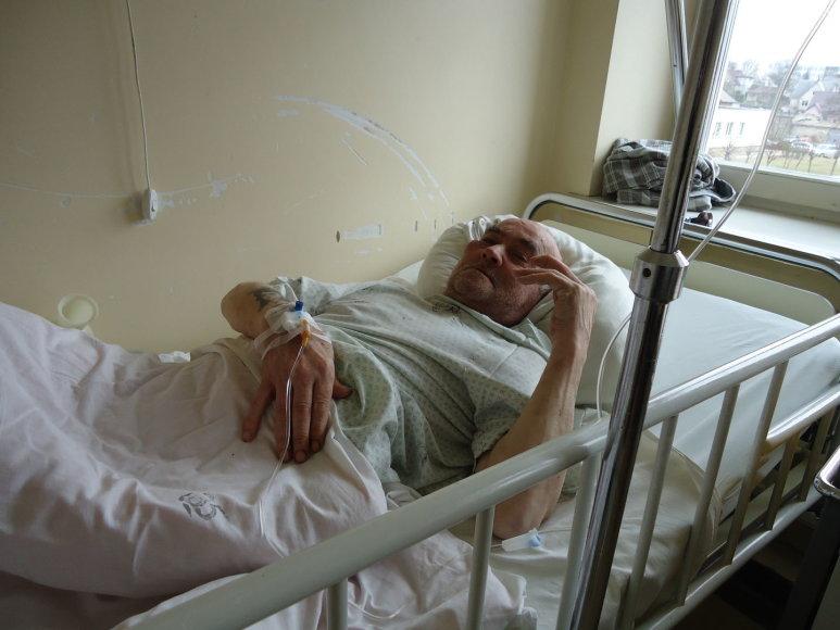 Žmonos smurtą patyręs ir ligoninėje besigydantis Donatas Balsys ant išrinktosios nepyksta
