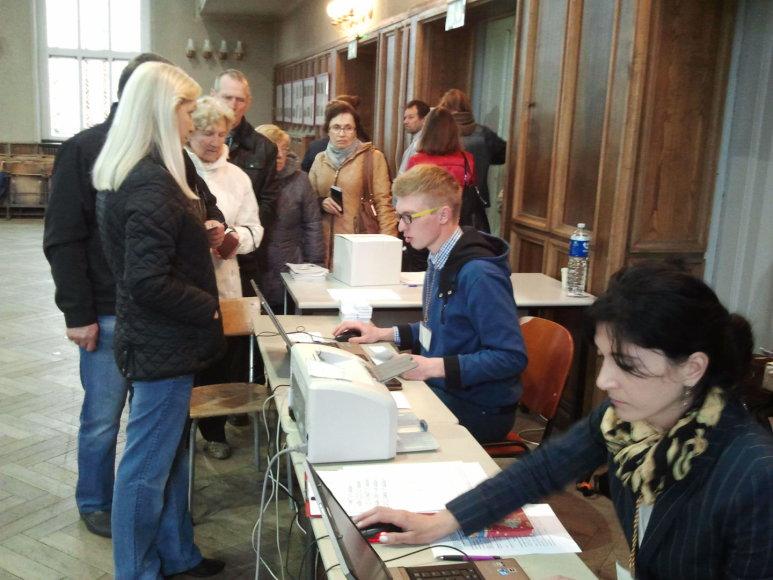 Balsavimas Klaipėdoje