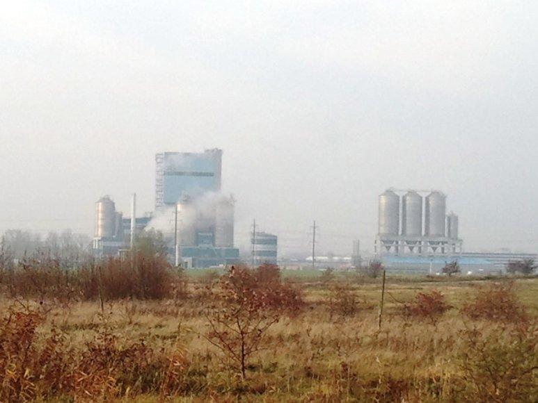 Pramonės rajone šalia Klaipėdos fiksuojamas didelis oro užterštumas