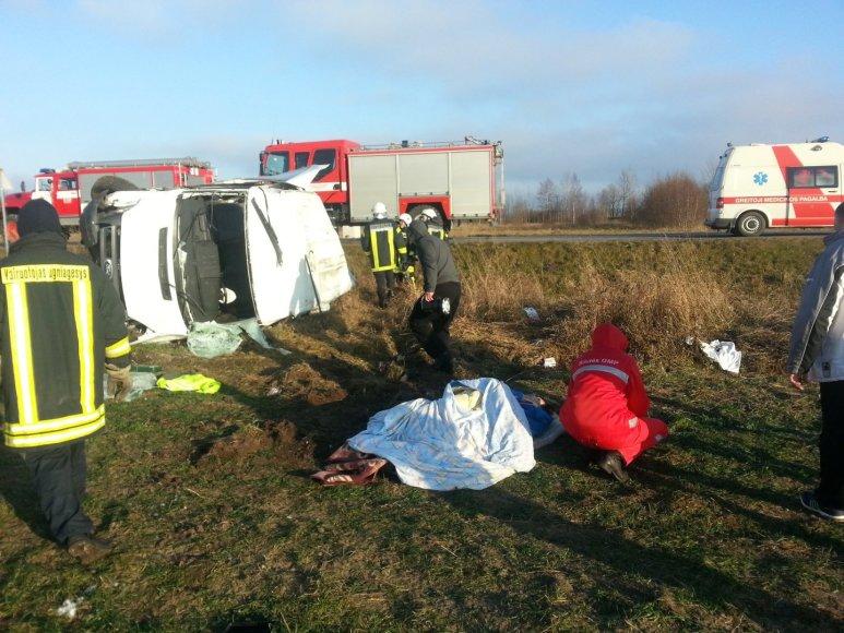 Avarijoje netoli Šilutės sužeisti 4 žmonės