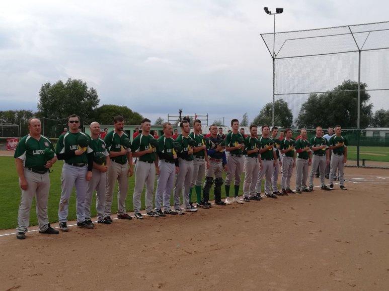 Europos beisbolo čempionato Lenkijoje pirmoji diena