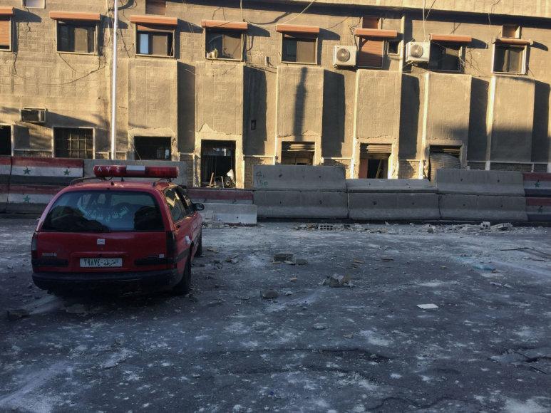 Damaske šalia policijos būstinės surengtos dvi mirtininkų atakos