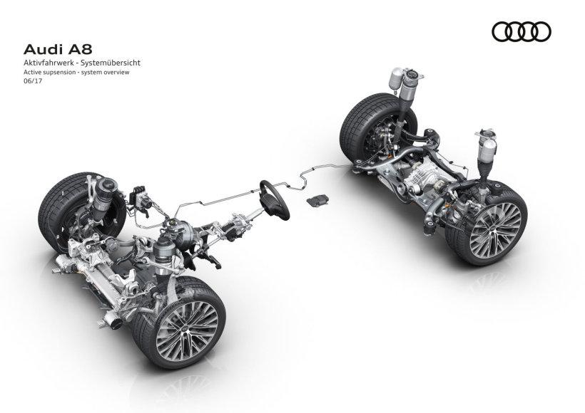 """""""Audi A8"""" pakaba"""