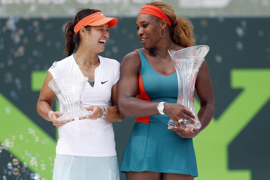 Li Na ir Serena Williams