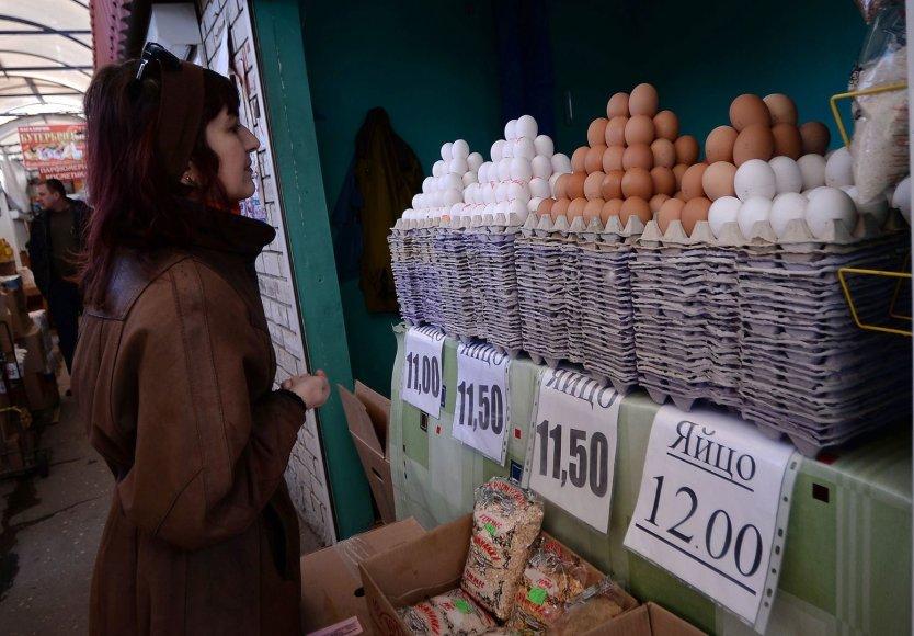 Moteris Simferopolio parduotuvėje