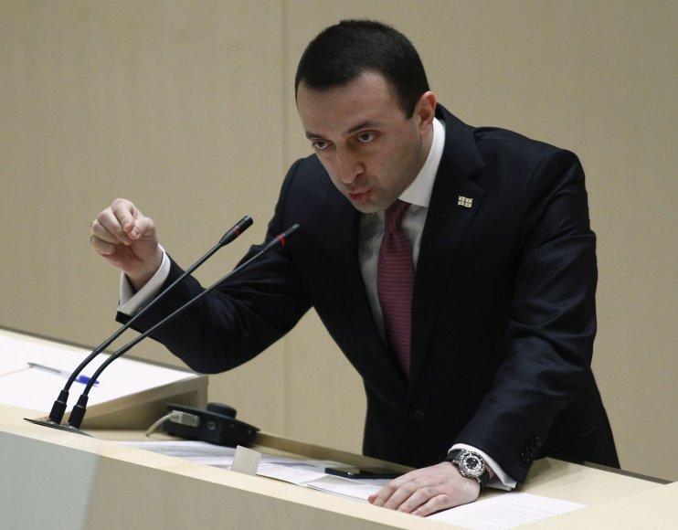 Gruzijos premjeras Iraklis Garibašvilis
