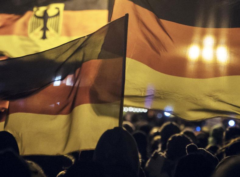 Mitingas prieš musulmonus Vokietijoje