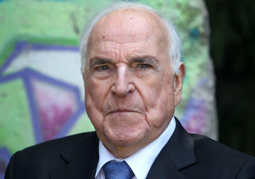 Buvęs Vokietijos kancleris Helmutas Kohlis