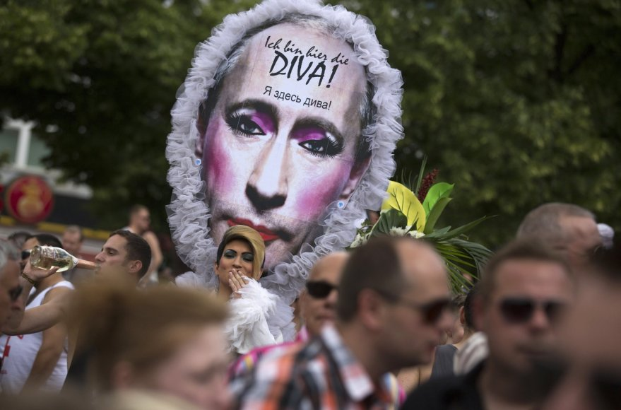 Eitynės prieš homofobiją Berlyne