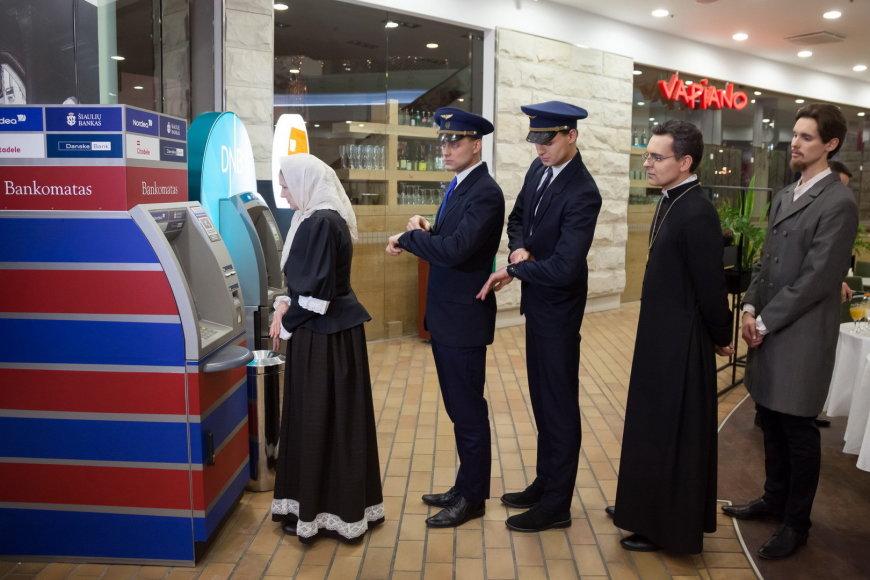 Atsisveikinimas su litu Vilniuje