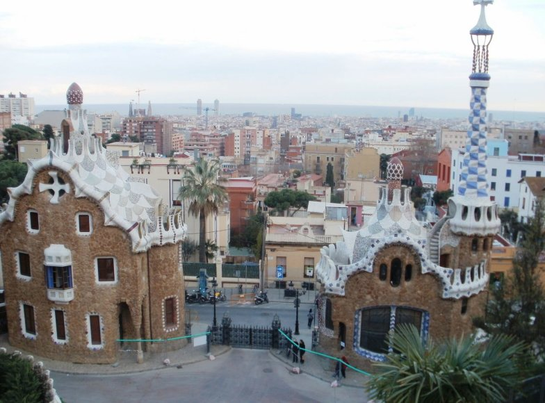 Kelionė autobusu Barselonoje ir Ispanijoje