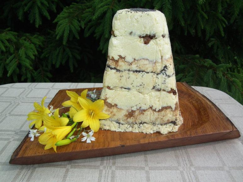 Šventinis varškės tortas
