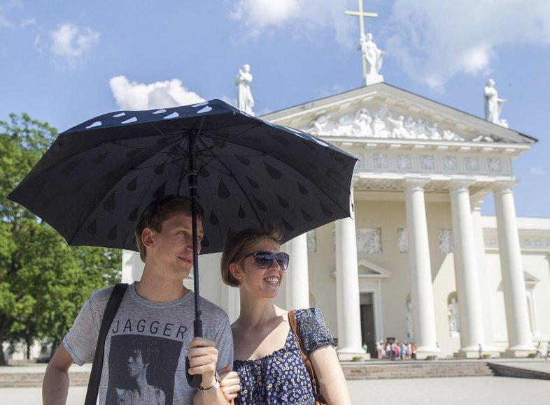 Gegužės karštis Vilniaus gatvėse