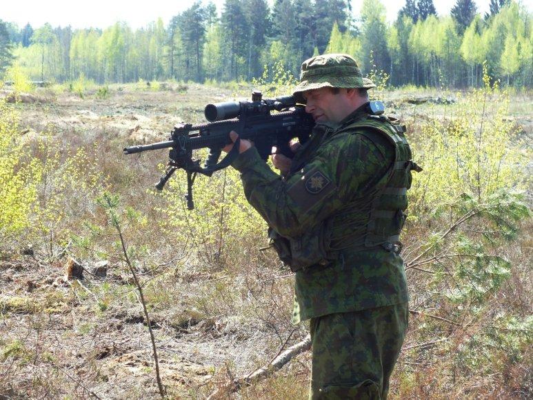 Sausumos pajėgų Juozo Lukšos mokymo centre Taiklaus šaulio kursai