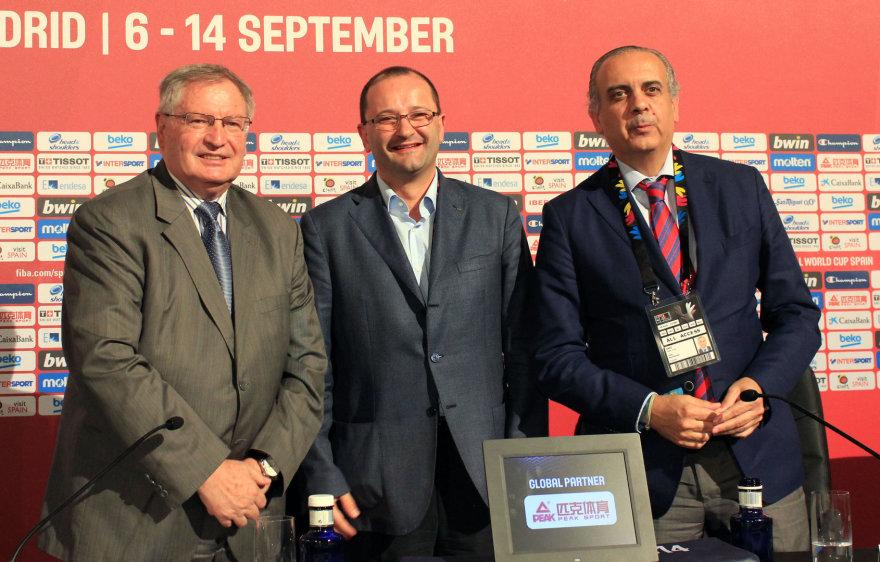 Yvanas Mainini, Patrickas Baumannas ir Jose Luisas Saezas