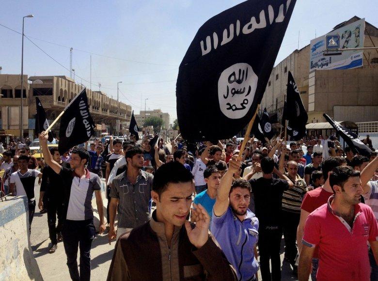 """""""Islamo valstybę"""" palaikantys Mosulo gyventojai"""