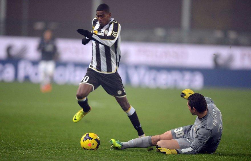 """""""Udinese"""" žaidėjas Maicosuelis"""