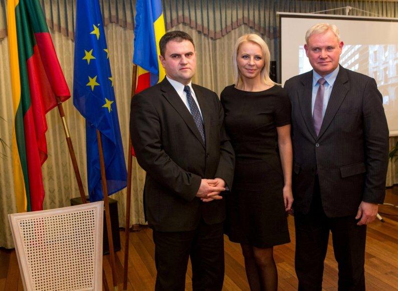 Rumunijos garbės konsulate Klaipėdoje