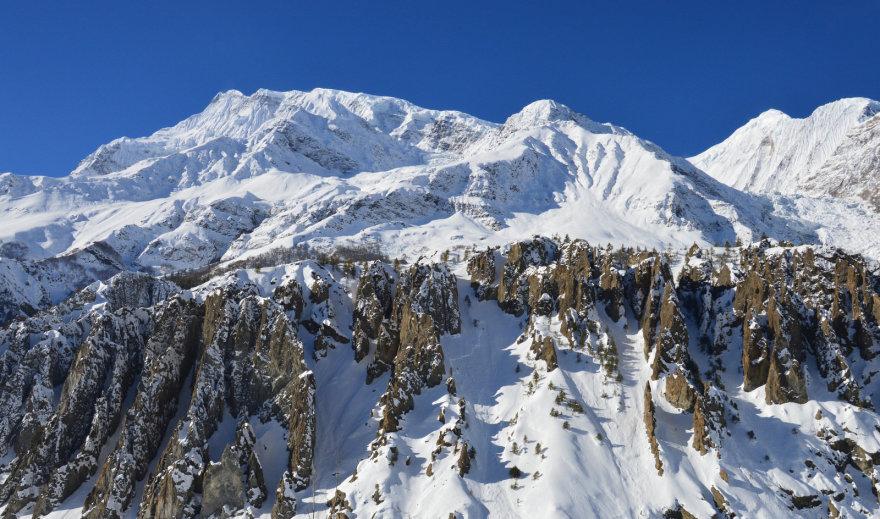 Snieguoti Himalajai