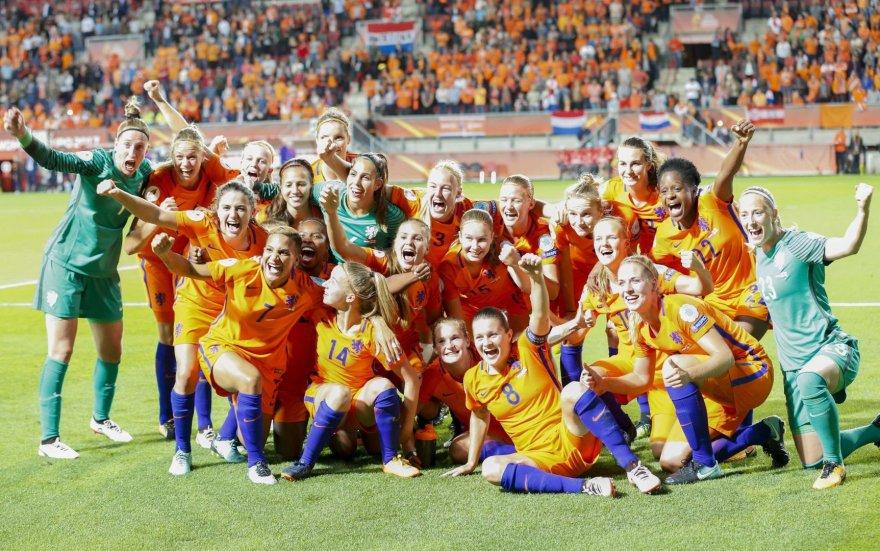 Nyderlandų moterų futbolo rinktinė