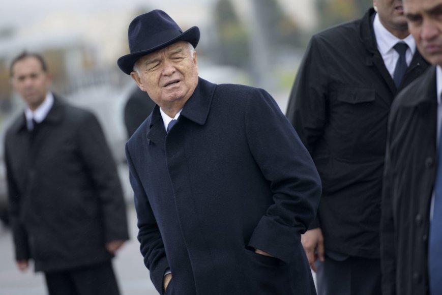 """""""Scanpix""""/AP nuotr./Islamas Karimovas"""