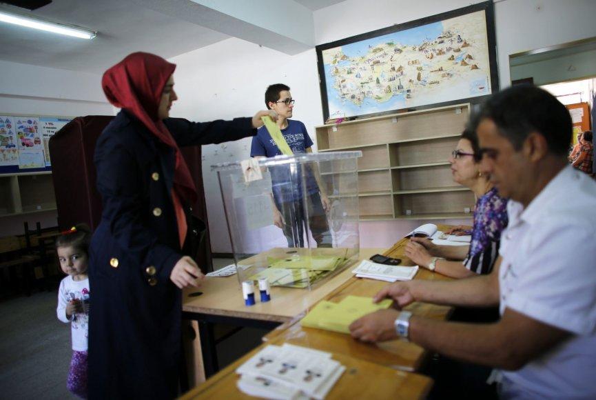 Rinkimai Turkijoje