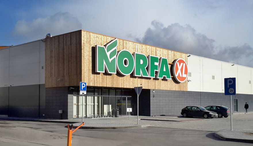 """Parduotuvė """"Norfa"""" Klaipėdoje, Vingio g."""