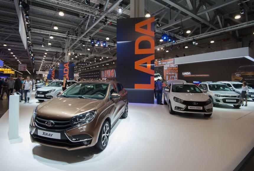 Maskvos automobilių paroda 2016